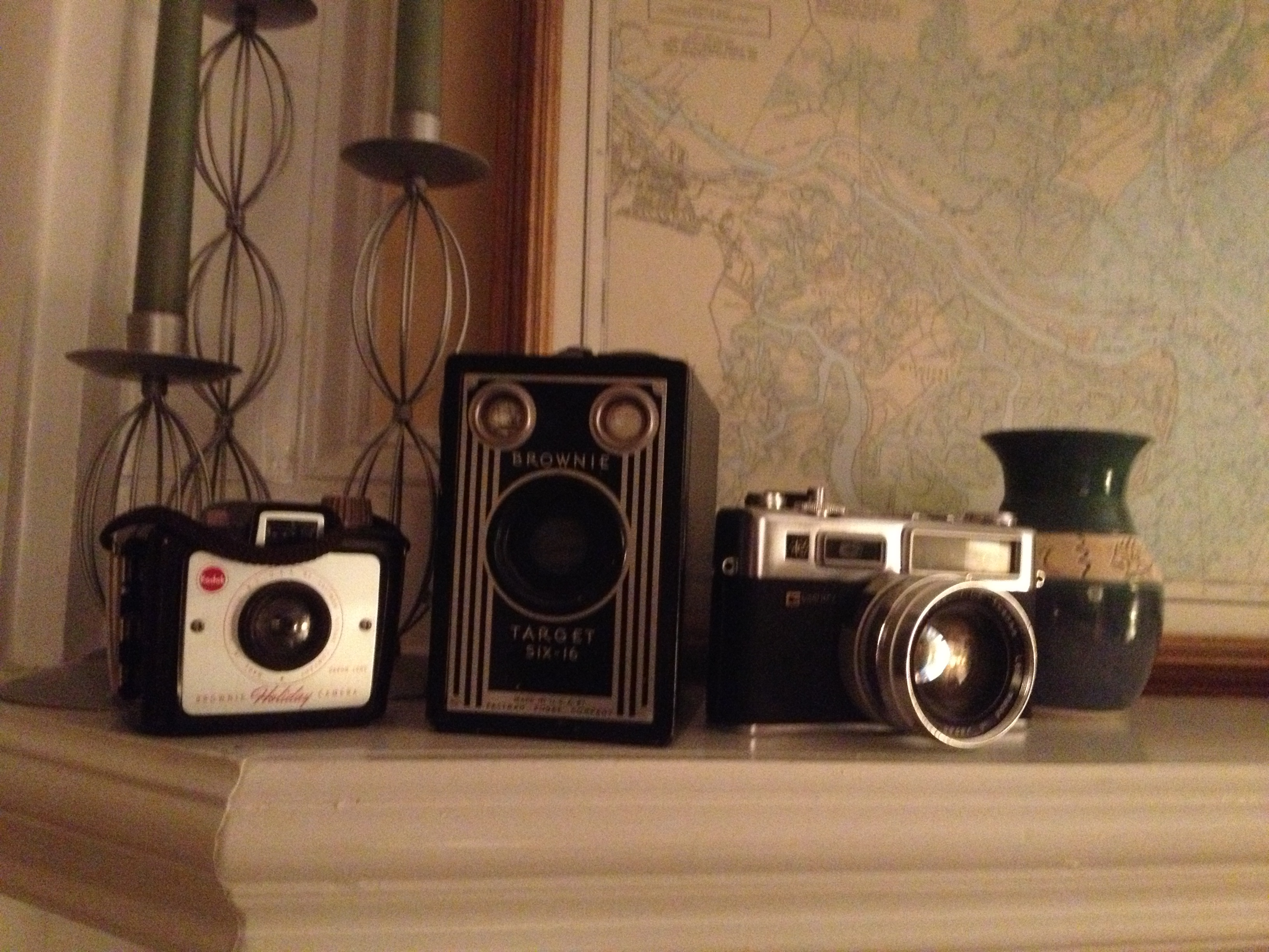 Three cameras