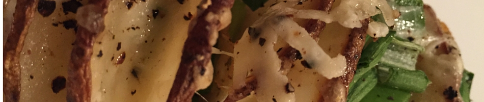Sliced Baked Stuffed Potato Recipe