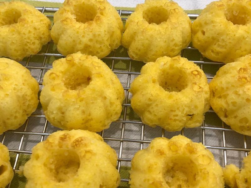 Mini Lemon Cakes with Lemon Glaze